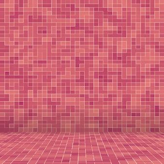 Padrão sem emenda de vidro abstrato luxo doce tom rosa pastel parede piso de vidro
