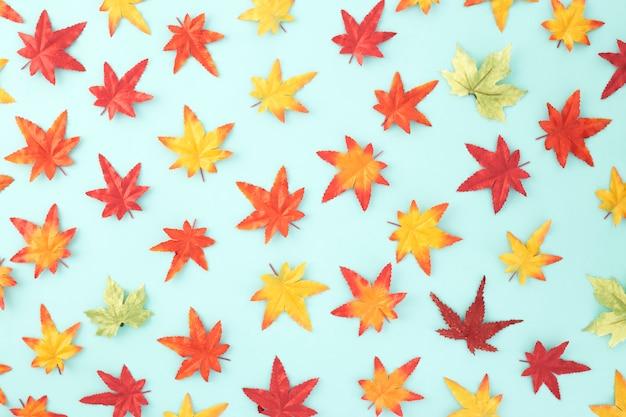 Padrão sem emenda decorativo de folhas de outono