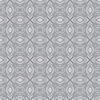Padrão sem emenda exótico. fundo preto caleidoscópio simétrico. impressão valiosa pronta para têxteis, tecido para biquínis, papel de parede, embrulho. design sem costura exótico de verão swimwear.
