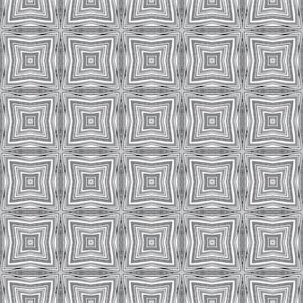 Padrão sem emenda exótico. fundo preto caleidoscópio simétrico. têxtil pronto para impressão surpreendente, tecido de biquíni, papel de parede, embalagem. design sem costura exótico de verão swimwear.