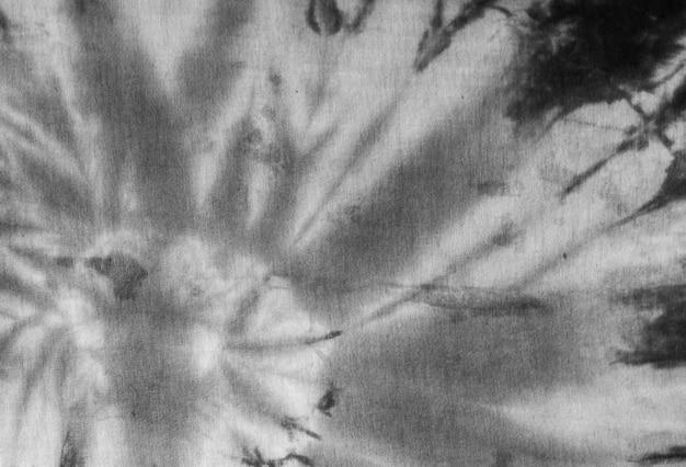 Padrão tingido em tecido de algodão abstrato