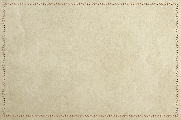 Padrão tribal simples em moldura de estilo doodle