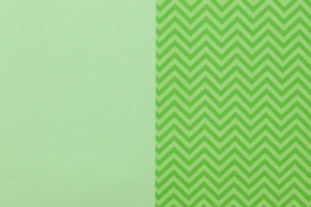 Padrão verde e superfície plana