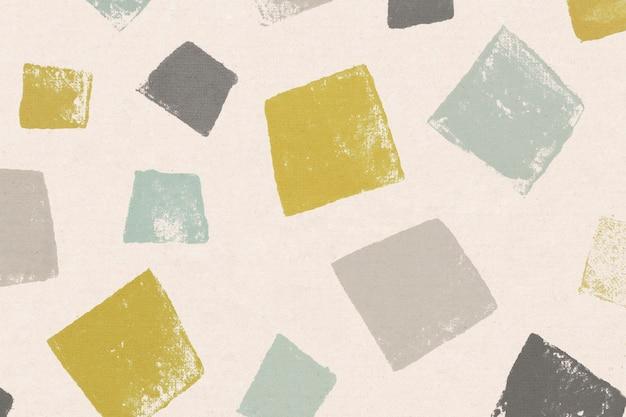 Padrões de fundo quadrado colorido