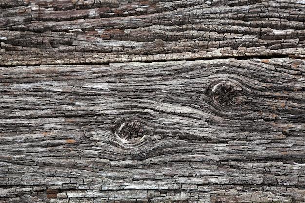 Padrões e texturas de madeira velha
