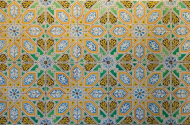 Padrões geométricos árabes