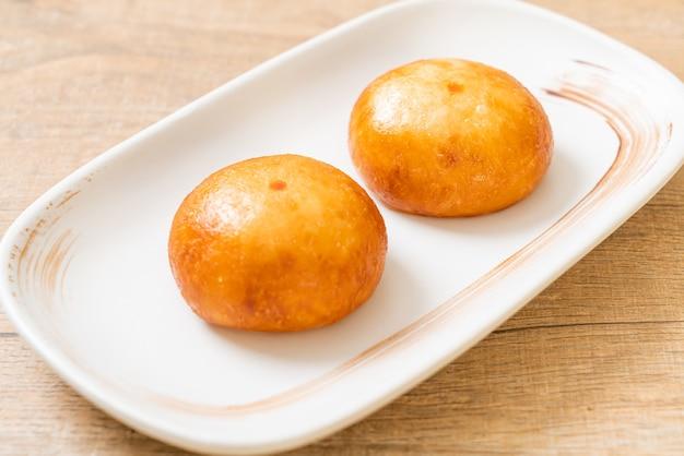 Pães de lava chineses fritos