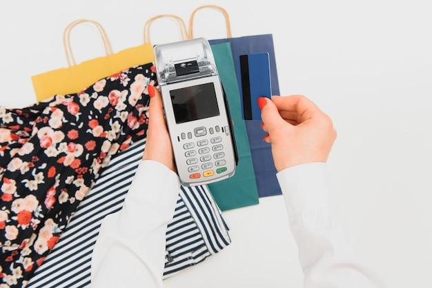 Pagamento por smartphone com tecnologia nfc