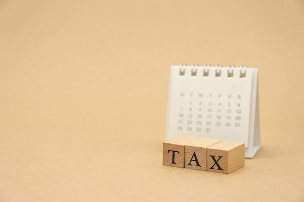 Pagar renda anual (tax) para o ano na calculadora.