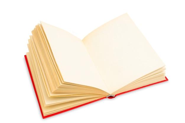 Páginas amarelas de um livro antigo. livro vintage raro. livro de papel usado.