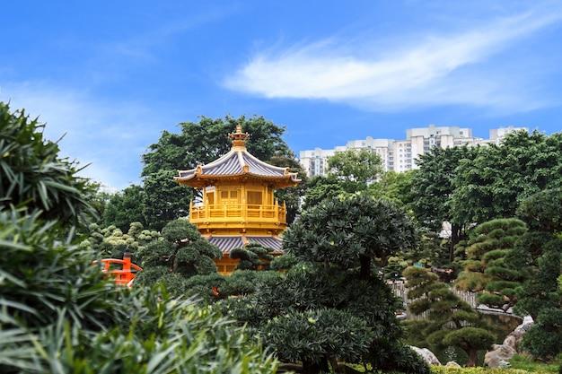 Pagoda dourada no nan lian garden