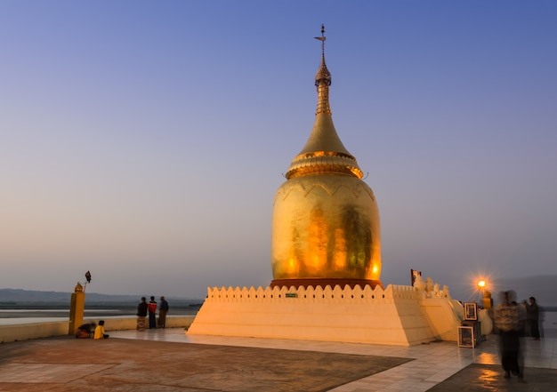 Pagode bupaya em bagan, mianmar