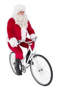Pai alegre, natal, ciclismo