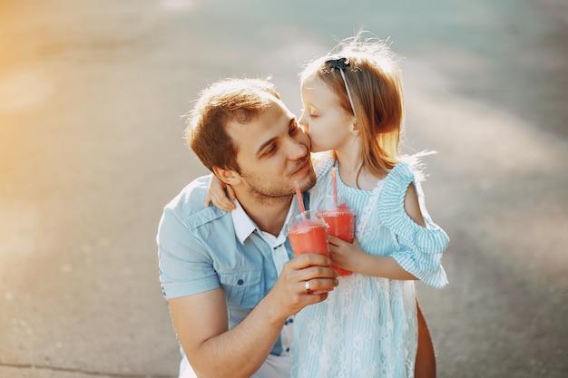 Pai com filha