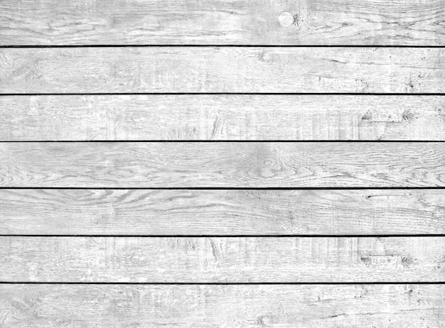 Painéis antigos de textura de madeira em preto e branco