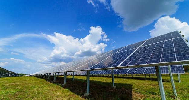 Painéis solares elétricos