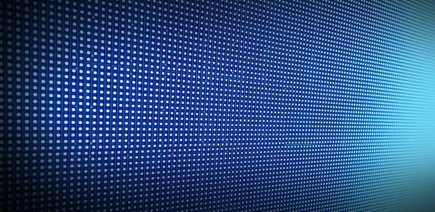 Painel de led desfocado em perspectiva, desfocar o fundo abstrato