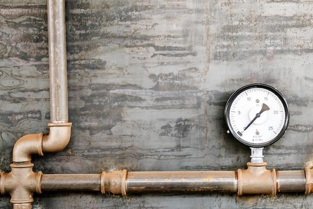 Painel de medição de pressão