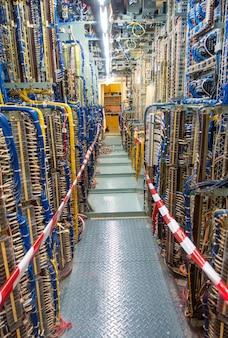 Painel e armário de manobra ou gabinete do painel de controle elétrico para usina elétrica e distribuição de eletricidade