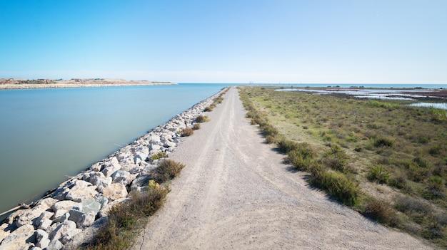 Paisagem, áreas naturais do delta do llobregat