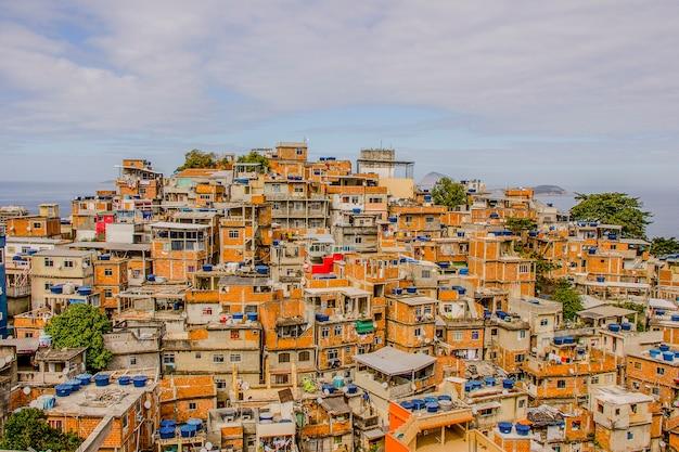 Paisagem da favela do cantagalo