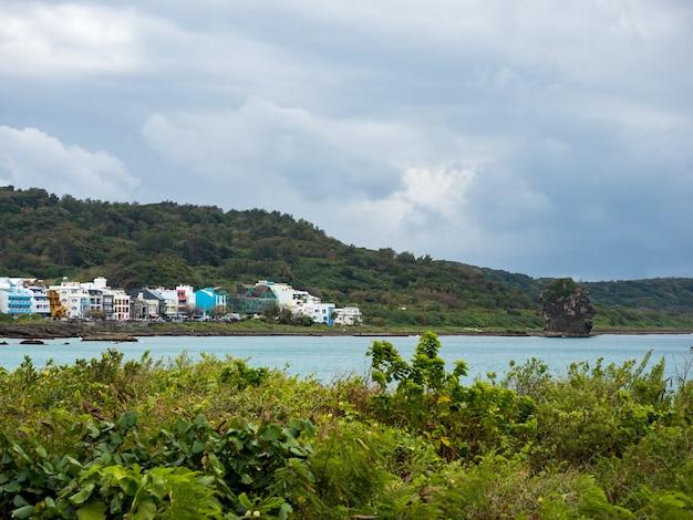 Paisagem da praia de xiaowan em kenting, taiwan