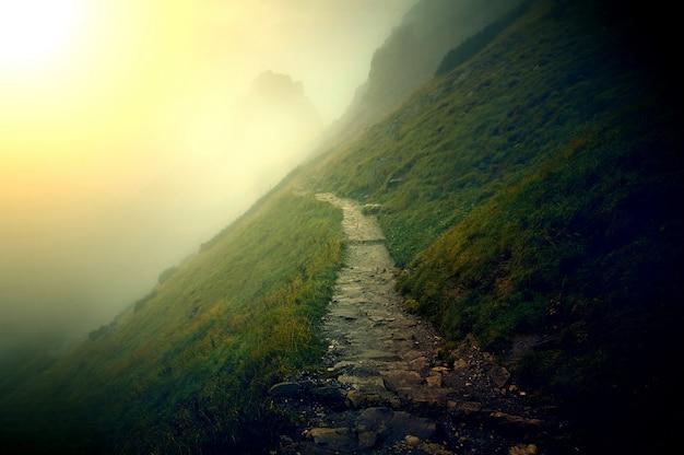 Paisagem das montanhas.