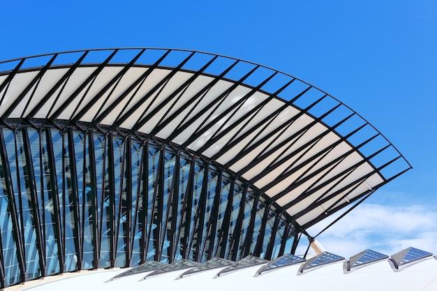 Paisagem de arquitetura de aeroporto