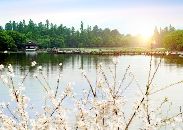 Paisagem de china hangzhou west lake