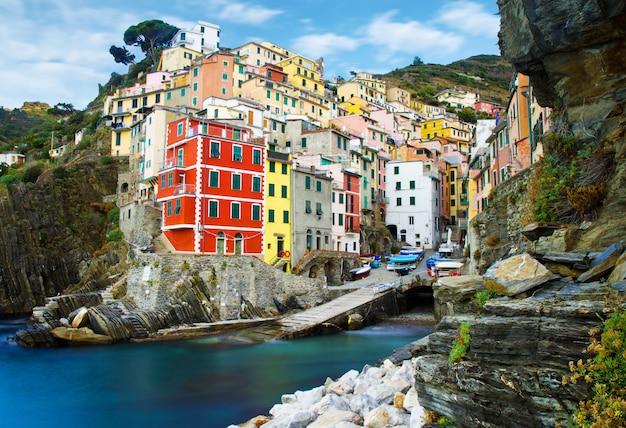 Paisagem de cinque terre na itália