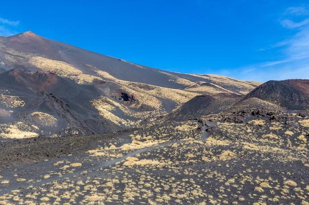 Paisagem, de, etna, vulcão
