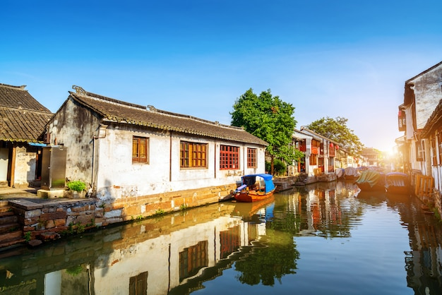 Paisagem de jiangsu zhouzhuang