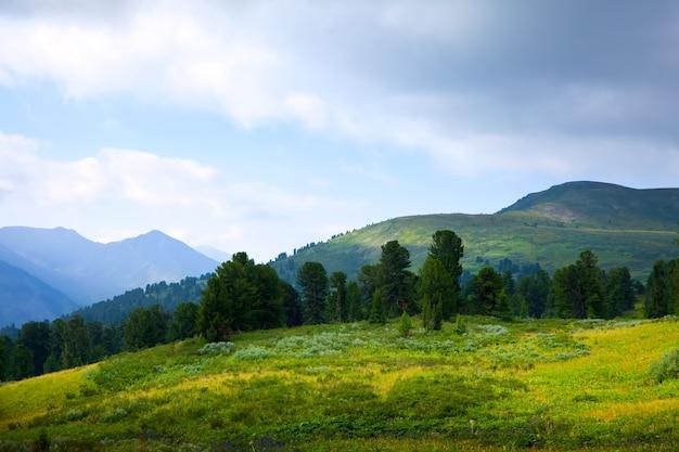 Paisagem de montanhas
