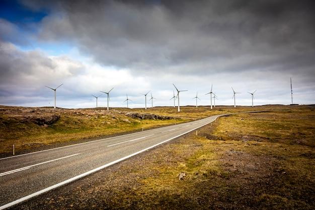 Paisagem de vento fazenda