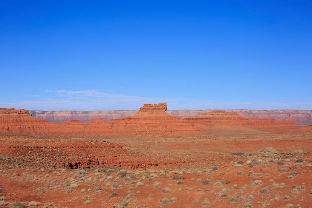 Paisagem do deserto na primavera, utá, eua.