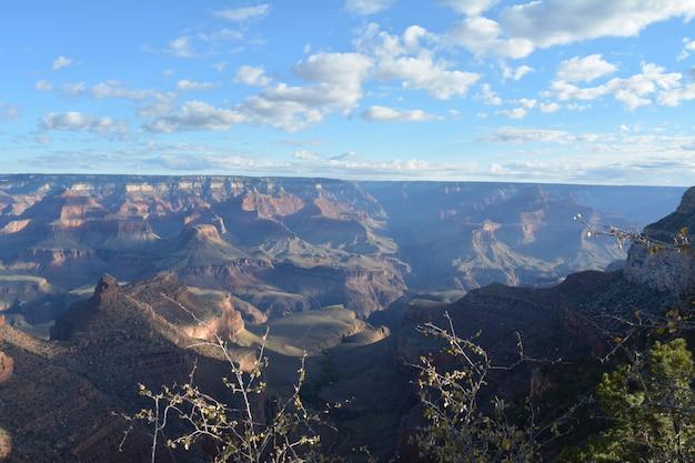 Paisagem do grand canyon em um dia ensolarado