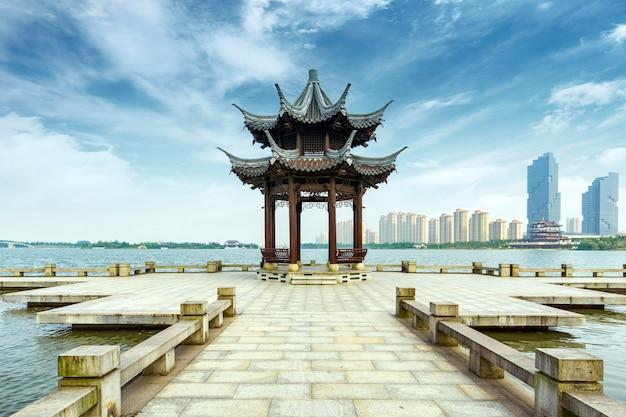 Paisagem do lago china hangzhou west