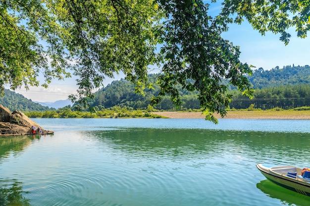 Paisagem do rio nanxi em wenzhou