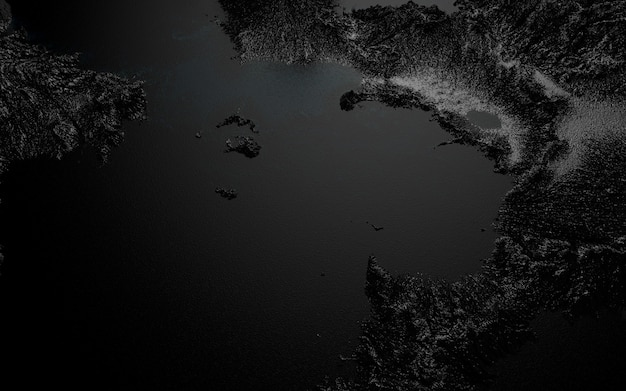 Paisagem gráfica, imagem casual da superfície terrestre sobre o tema da poluição da natureza