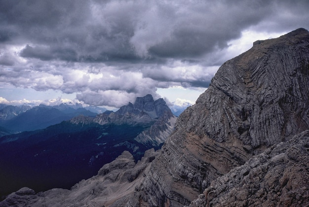 Paisagem natural das montanhas