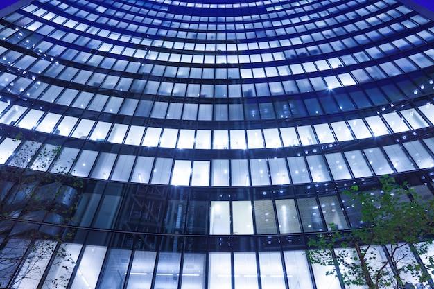 Paisagem urbana de prédio de escritórios de londres para o conceito de negócio