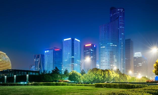 Paisagem urbana em shenzhen, china