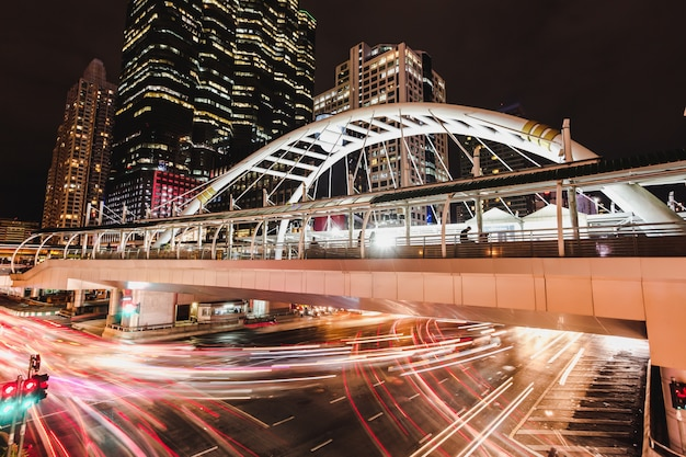 Paisagem urbana nigth view chong nonsi bts