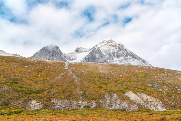 Paisagem vista na reserva nacional de yading