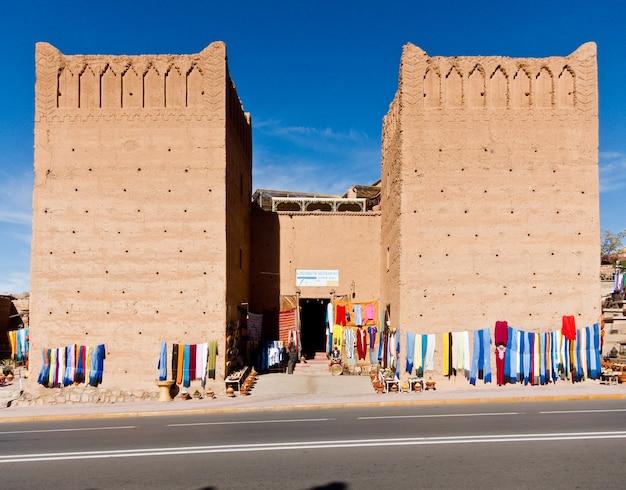 Paisagens e cidades. pessoas, marrocos