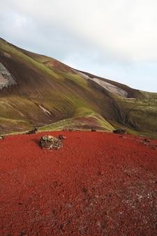 Paisagens multicoloridas em kamchatka