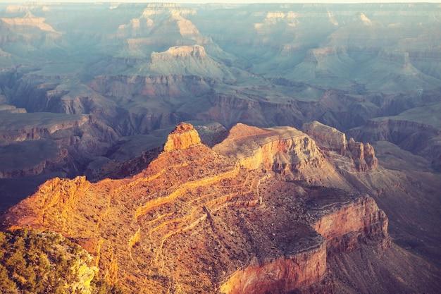 Paisagens pitorescas do grand canyon, arizona, eua