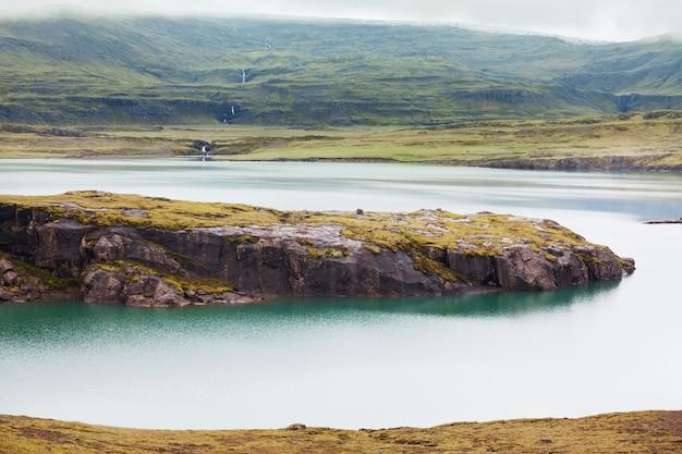 Paisagens vulcânicas da islândia