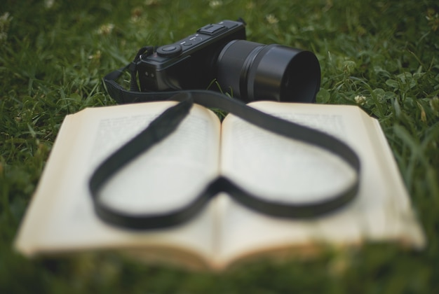 Paixão pela fotografia e leitura