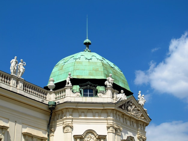 Palácio belvedere em viena, áustria